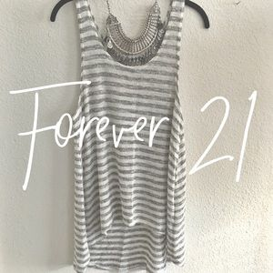 Forever 21 / striped knit tank