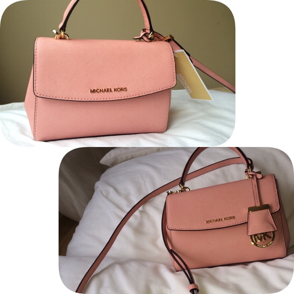 691d6df9b7c Michael Kors Bags   Mini Ava Pale Pink Crossbody   Poshmark