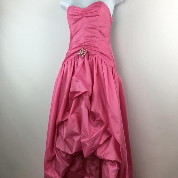Jessica McClintock Dresses | Barbie Pink Prom Dress | Poshmark