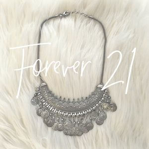 Forever 21 / turkish coin necklace