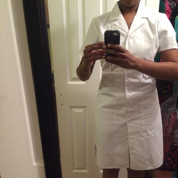 10f40cc6f1886 Dickies Dresses & Skirts - White dickies scrub dress