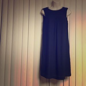 Navy blue H&M shift dress Size 4 EUR 34