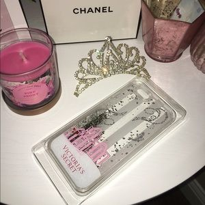 Victoria secret Glitter iPhone case