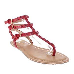 Look-alike Valentino rockstud sandal 8.5