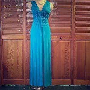 Breezy Blue F21 Maxi Dress