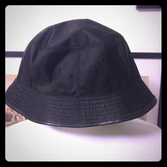30de110bc74 Coach Accessories - Authentic black Coach rain hat