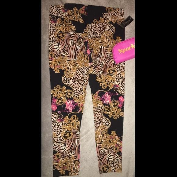 023aa94f4b35a Thalia Sodi Pants   Versace Print Inspired New Leggings   Poshmark
