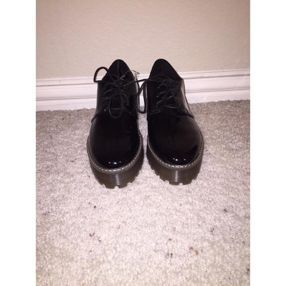 H\u0026M Shoes   Hm Patent Platform Shoes