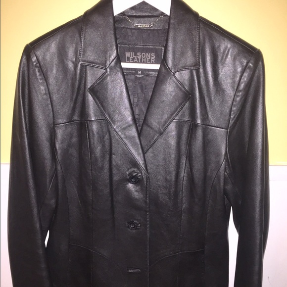 Leather jacket wilson