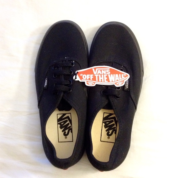 black van shoes size 5