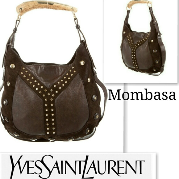 c95c69fb96 Authentic Yves Saint Laurent Mombasa bag. M_574455fcf739bc551c001125
