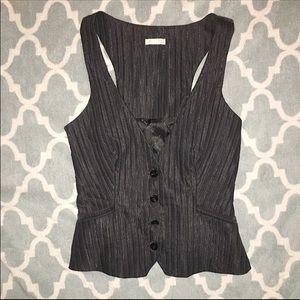 Byblos Jackets & Blazers - NWOT Designer vest - black