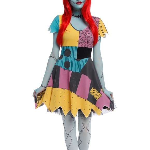 Hot Topic Dresses Sally Dress Nightmare Before Christmas