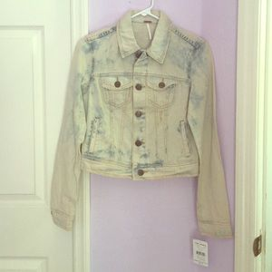NWT✨ Free People Denim Jacket