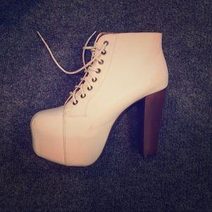Size 8 Heel Booties