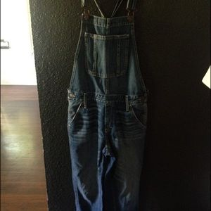 0fd4998baf9 Abercrombie   Fitch Jeans - A F Allie Boyfriend Overalls M
