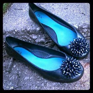 Oka Shoes - Festive Oka Ballet Flats