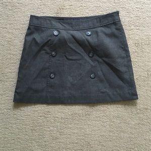 GAP gray business skirt