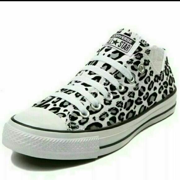 0e512dc8772f Converse Shoes - NEW Rare Leopard Converse All Star