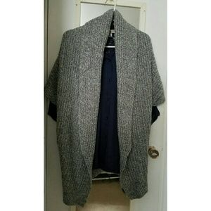 Zara Cable Knit Cardigan Sweater