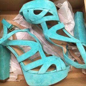 Zara Suede Leather Heels