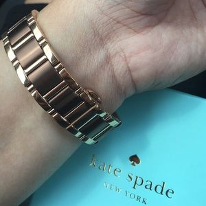 kate spade Other - Kate Spade New York Gramercy dot bracelet watch