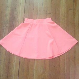 H&M Pink Circle Skirt