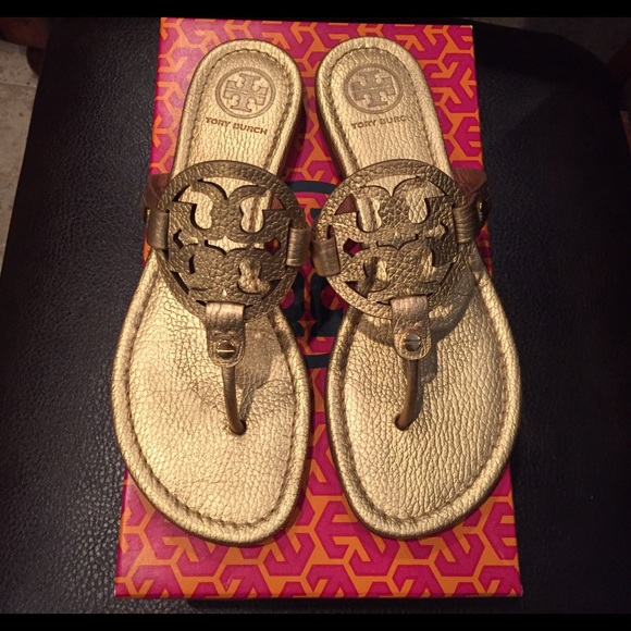 178b0706d083 TORY BURCH MILLER SANDALS GOLD SIZE 8.5. M 57449610c6c79537300072e8. Other  Shoes you may like