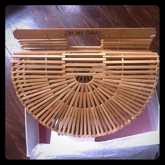 Cult Gaia Bags Gaias Ark Japanese Bamboo Handbag Poshmark