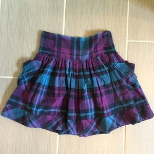 outfitters sale purple blue and black plaid