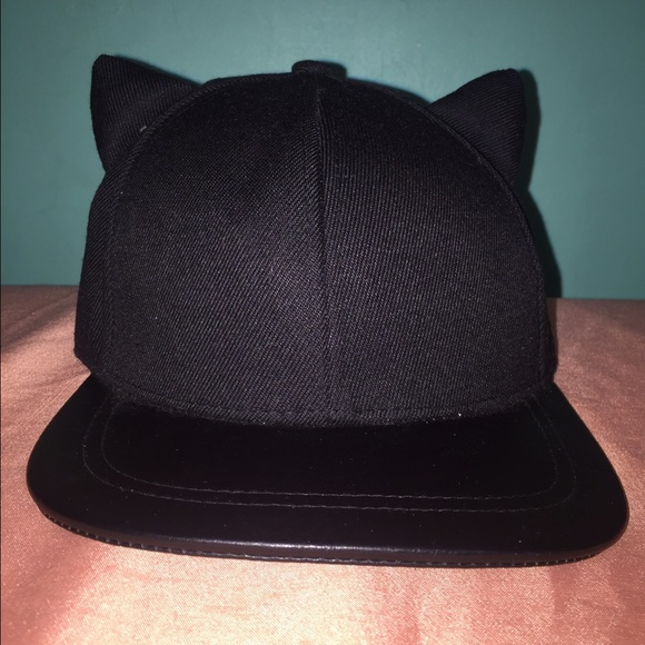 H M Accessories - H M Kitty Ears SnapBack aa84285b13f