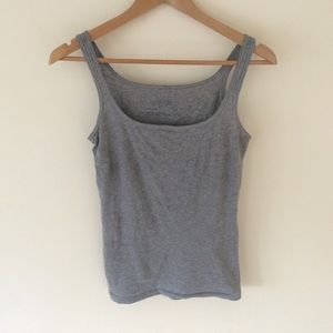 All Saints Small Gray Tank Top Size 8