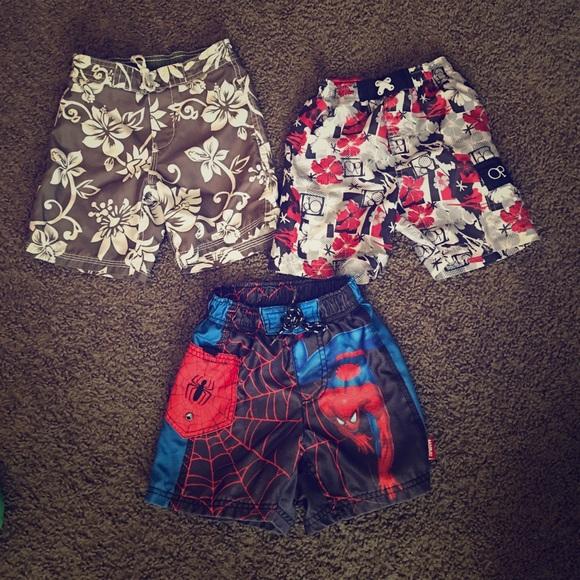 375bfed1b7c31 Toddler Boys Bundle 3 pairs of swim Trunks 🎉. M_5744a829291a35b905001647