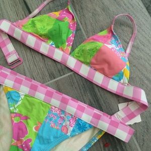 Lilly Pulitzer Other - Lilly Pulitzer bikini set!