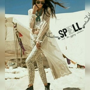 Spell & The Gypsy Collective Pants - NWT Spell & The Gypsy Python Jets Pants
