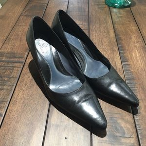 Cole Haan pointy toe pumps