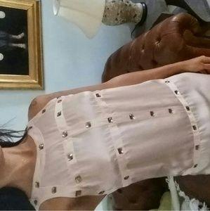 Dropped price  dress silk animale amazing