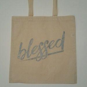 Salt Lake Clothing Handbags - 🛍LAST🛍Blessed graphic reusable tote bag