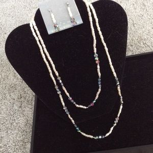 Vintage Laguna for Tempo Necklace/Earring Set