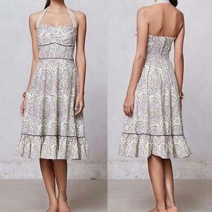 Elegant anthropologie dress