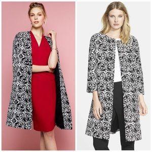 Classiques Entier Jackets & Blazers - Black and White print Topper Coat