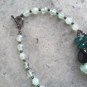 Jewelry - Mint and Teal Statement Necklace