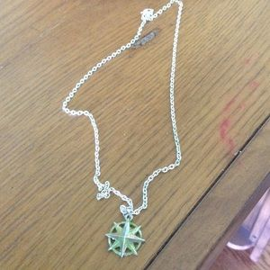 Jewelry - Patinated lone star necklace