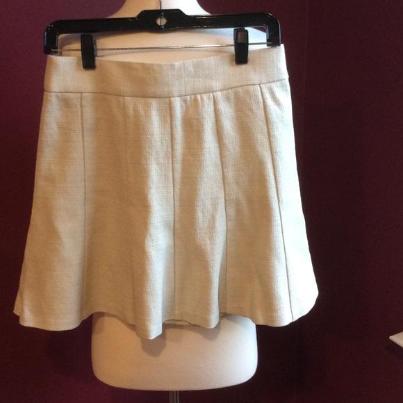 e783bb9c4e670b Banana Republic Skirts | Basket Weave Fit Flare Skirt | Poshmark