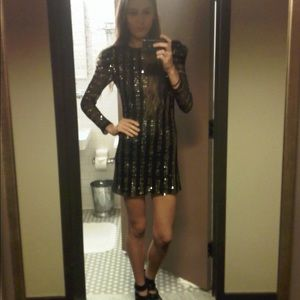 Gorgeous French Connection Sequin Dress