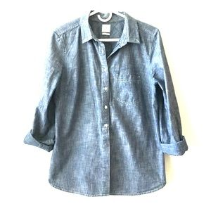 Gap Tailored Chambray Shirt