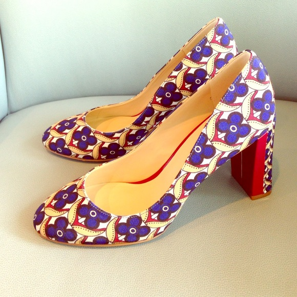 Nine West Shoes Beautiful Patterned Heels Poshmark Amazing Patterned Heels