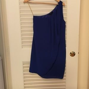 Blaque Label blue dress