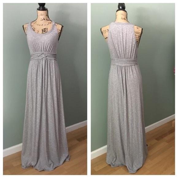 maxi dress gray 74