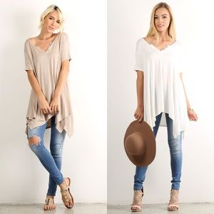 Tops - Short Sleeve Tunic